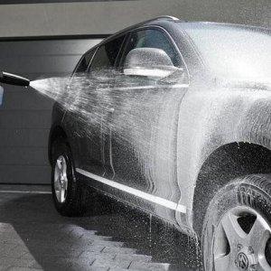 Зимняя мойка автомобиля